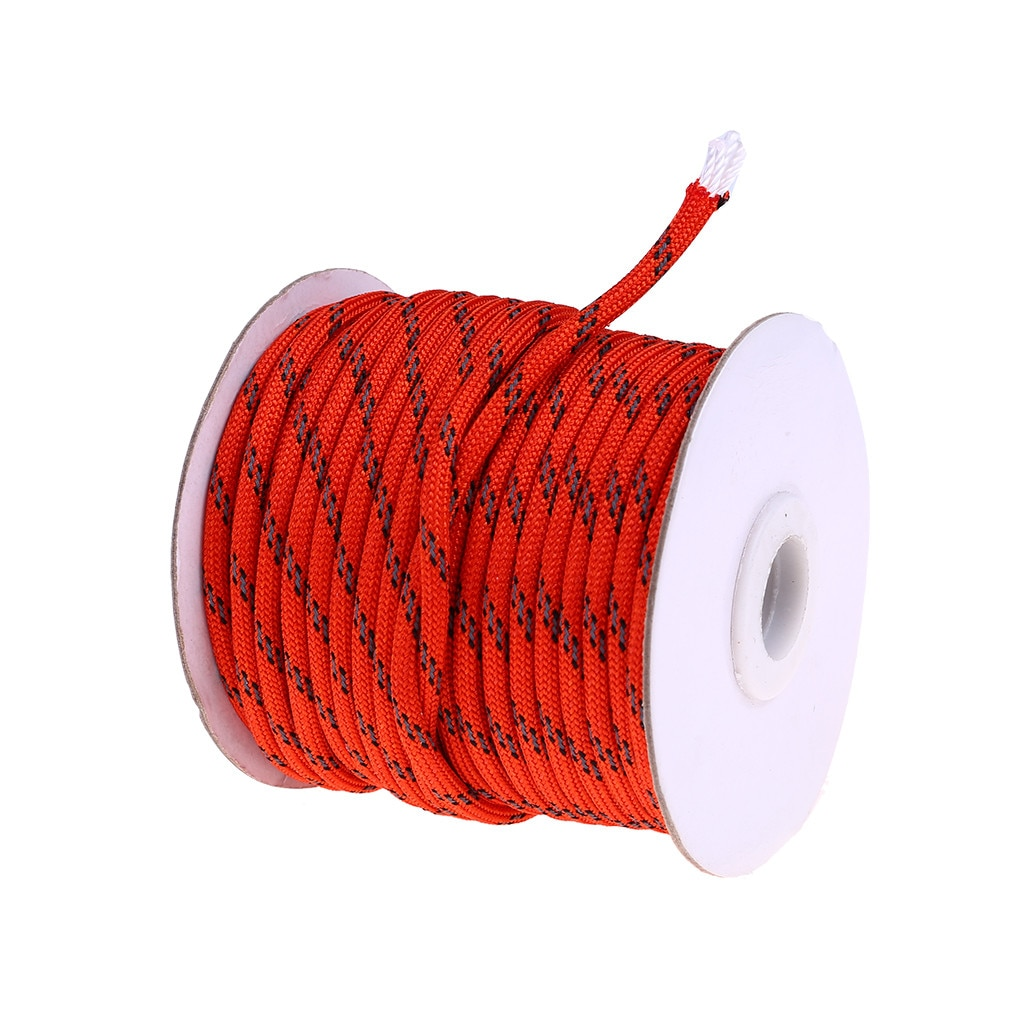Climbing Rope Outdoor Emergency Strength Wear Resistant for Hiking Accessories