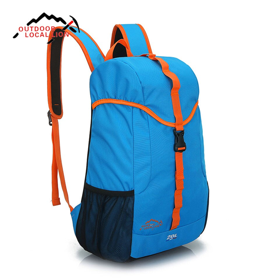 running Blue 14L Outdoor Backpack cycling hiking